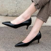 Arden Furtado Spring And autumn Fashion Women's Shoes Pointed Toe Stilettos Heels  Sexy Elegant Pure Color