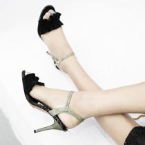 Arden Furtado Summer Fashion Trend Women's Shoes Stilettos Heels  Sexy Elegant Sweet Buckle Office lady Sandals Party Shoes  Big size 42