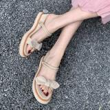 Arden Furtado Summer Fashion Trend Women's Shoes Elegant Pure Color Sandals Sexy Elegant Narrow Band Concise Dual-purpose shoes