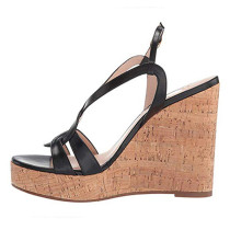 Arden Furtado Summer Fashion Women's Shoes Sexy Elegant Platform Wedges Sandals Leather Buckle Strap ladies party shoes big size