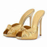 Arden Furtado Summer Fashion Trend Women's Shoes  Sexy Elegant Pure Color Classics Stilettos Heels Party Shoes Mature Concise