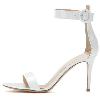 Arden Furtado Summer Fashion Women's Shoes Stilettos Heels Narrow Band Sexy Classics Elegant grey Sandals Buckle