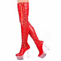Arden Furtado Fashion Women's Shoes Winter  Pointed Toe Stilettos Heels Zipper  Leather Sexy Elegant Pure Color Waterproof
