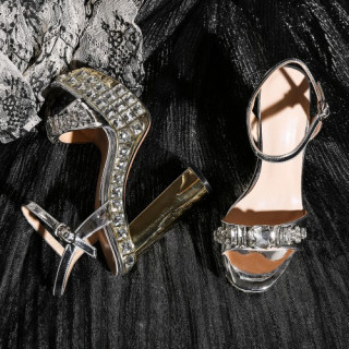 Arden Furtado Summer Fashion Women's Shoes Sexy Elegant Classics concise Buckle strap Crystal rhinestone Platform Sandals
