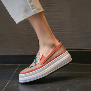 Arden Furtado Summer Fashion Trend Women's Shoes Sexy Elegant Slip-on Classics Waterproof Wire side Mature Concise Shallow