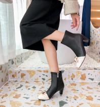 Arden Furtado Fashion Women's Shoes Winter  Elegant Ladies Boots Concise Short Boots Leather Classics Mature Comfortable