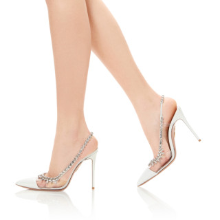 Arden Furtado Summer Fashion Trend Women's Shoes Pointed Toe Stilettos Heels Sexy Elegant Wedding Shoes Concise Office lady