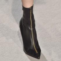Arden furtado Winter Black Stilettos heels Pointed toe Fashion Women's boots Short boots Matin boots