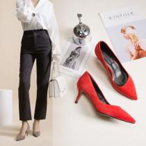 Arden Furtado Stilettos heels Pumps Fashion Office lady Elegant Pumps Sexy  big size 40