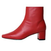 Arden Furtado Fashion Women's Shoes Winter Square Head Elegant Ladies Boots Genuine Leather Matin Boots Big size 43