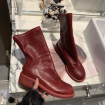 Arden Furtado Fashion Women's Shoes Winter Sexy Elegant Ladies Boots Concise pure color Front zipper  Leather Concise Classics