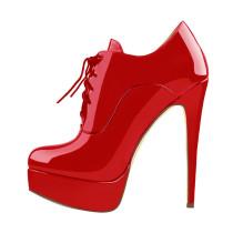 Arden Furtado Fashion Women's Shoes Winter Pointed Toe Stilettos Heels Sexy Elegant Ladies Boots Cross Lacing  pure color