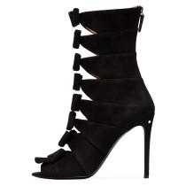 Arden Furtado Summer Fashion Trend Women's Shoes Sexy Elegant Ladies Boots Classics pure color Zipper Elegant Cool boots