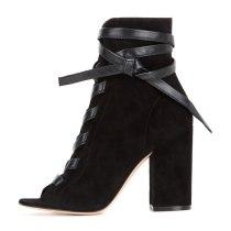 Arden Furtado 2020 Summer Fashion Women shoes Chunky Heels Sexy Elegant peep toe boots Short Boots Ankle strap