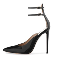 Arden Furtado Summer Fashion Trend Women's Shoes Pointed Toe Stilettos Heels  Sexy Elegant pure color Buckle Elegant Sandals