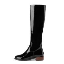 Arden Furtado Fashion Women's Shoes Winter pure color  Sexy Elegant Ladies Boots Back zipper Concise Mature Knee High Boots
