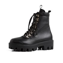 Arden Furtado Fashion Women's Shoes Winter  Sexy Elegant Ladies Boots Short Boots Concise Women's Boots Mature  Cross Lacing