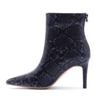 Arden Furtado Fashion Women's Shoes Winter Pointed Toe Stilettos Heels Zipper Concise Short Boots  Sexy Elegant Ladies Boots