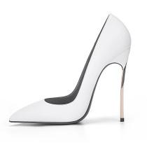 Arden Furtado Summer Fashion Trend Women's Shoes Pointed Toe Stilettos Heels  Sexy Elegant pure color Slip-on Pumps Party Shoes
