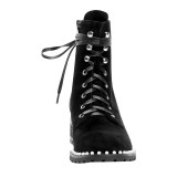 Arden Furtado Fashion Women's Shoes Winter   Sexy Elegant Ladies Boots pure color Cross Lacing Short Boots Leather Concise