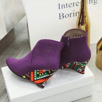 Arden Furtado Fashion Women's Shoes Winter orange Sexy Elegant Ladies Boots Classics Concise pure color Zipper Short Boots