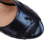Arden Furtado Summer Fashion Trend Women's Shoes white Stilettos Heels Personality Peep Toe Waterproof Slippers Big size 50
