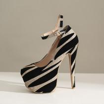 Arden Furtado Summer Fashion Trend Women's Shoes Pointed Toe Stilettos Heels Sexy Elegant  Slip-on Pumps Waterproof Party Shoes