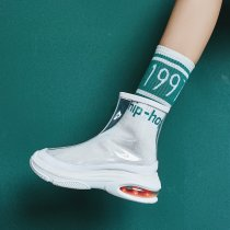 casual shoes sneakers fashion Cool boots clear pvc fashion wedges summer booties  Send socks as gifts