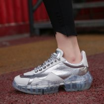 Arden Furtado spring and autumn 2019 fashion women's shoes joker online celebrity cross lacing white casual shoes personality