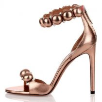 Arden Furtado summer 2019 fashion trend women's shoes sexy gold elegant concise mature office lady pure color sandals stilettos heels party shoes narrow band big size 43