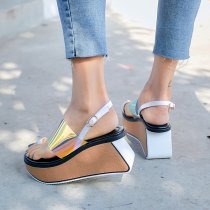 Arden Furtado summer 2019 fashion trend women's shoes waterproof sexy elegant sandals buckle  narrow band classics