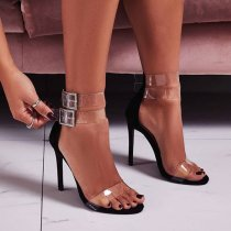 Arden Furtado summer 2019 fashion trend women's shoes  sexy elegant sandals buckle concise stilettos heels party shoes