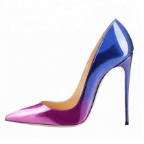 Arden Furtado Summer Fashion Women's Shoes Pointed Toe Stilettos Heels Slip-on Mixed Colors Pumps Concise Classics Mature