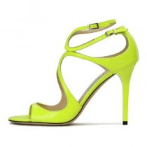 Arden Furtado Summer Fashion Trend Women's Shoes Sexy  Pure Color Concise Sandals Buckle Sling Back Elegant Party Shoes