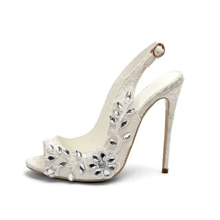 wedding shoes white sexy lace pumps women's shoes ladies