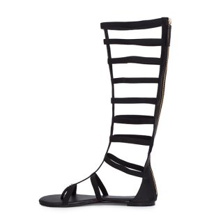 2018 foreign trade summer season fashion  gladiator women's shoes sandals ankle strap large size sexy  personality