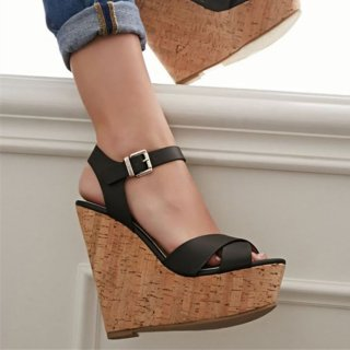 Summer 2019 fashion women's shoes ladies high heels wedges platform sexy party shoes larger size