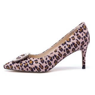 Arden Furtado summer 2019 fashion trend women's shoes pointed toe stilettos heels slip-on pink pumps party shoes leopard print