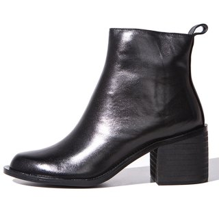 Arden Furtado fashion women's shoes in winter 2019 online celebrity small leather shoes ladies boots concise mature pure color zipper