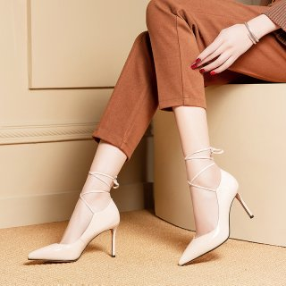 Arden Furtado summer 2019 fashion trend women's shoes pointed toe stilettos heels pumps party shoes office lady narrow band