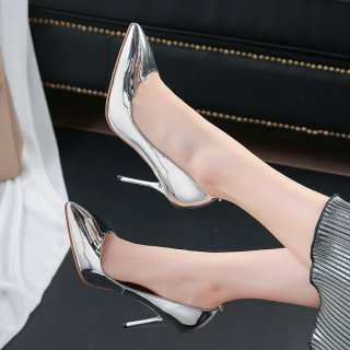 Arden Furtado Summer Fashion Trend Women's Shoes Pointed Toe Pumps Party Shoes Stilettos Heels Sexy Elegant Pure Color Slip-on