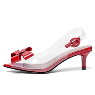 Arden Furtado Summer Fashion Trend Women's Shoes Butterfly-knot Concise Buckle Sexy Elegant Buckle Peep Toe Stilettos Heels