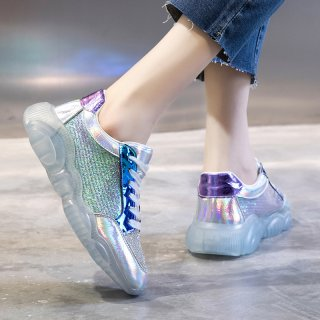 Arden Furtado Spring And autumn Fashion Women's Shoes Bling Bling Personality Cross Lacing Classics Concise Leisure Sneakers