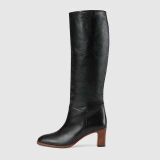 Arden Furtado fashion women's shoes knee high boots big size women's boots chunky heels