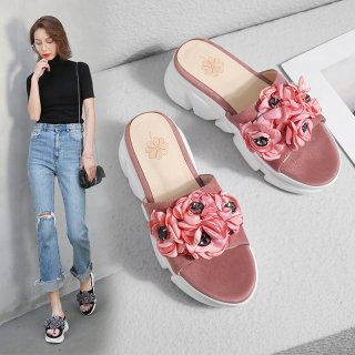 Arden Furtado Summer Fashion Trend Women's Shoes Sexy Elegant Pure Color Concise Comfortable Classics Slippers Big size 42