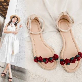Arden Furtado Summer Fashion Trend Women's Shoes Chunky Heels  Sexy Elegant Narrow Band Block heels Pure Color Sandals Buckle Back Buckle