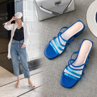 Arden Furtado Summer Fashion Trend Women's Shoes  Sexy Elegant Pure Color Slippers Personality Concise Narrow Band
