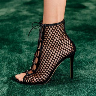 Arden Furtado Summer Fashion Women's Shoes Sexy Elegant mesh Sandals Elegant Short Boots ladies sandals party shoes