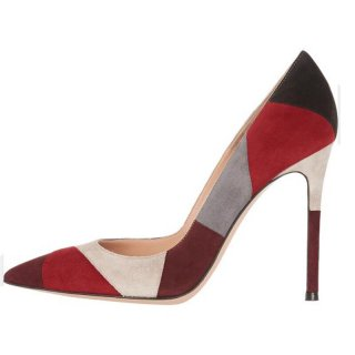 Arden Furtado Summer Fashion Trend Women's Shoes Pointed Toe  Mixed Colors Stilettos Heels Party Shoes  Slip on Sexy Elegant