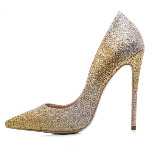d19a0237a13c Arden Furtado 2018 spring new style shoes for woman high heels stilettos bling  bling sexy pumps